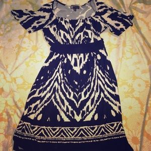 Carole Little B&W Stretch Dress